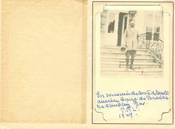 Carte Photo Fotokaart In Mapje Ancien Bourgmestre De Braives : Comte De Maroblin ? 1949 - Braives