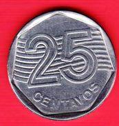BRASILE - 1994 - Moneta Circolata - 25 Centavos - Brasile