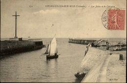 14 - COURCEULLES-SUR-MER - Jetée - Courseulles-sur-Mer