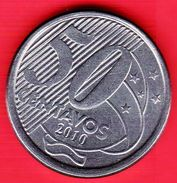 BRASILE - 2010 - Moneta Circolata - 50 Centavos - Brasile