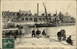 14 - COURCEULLES-SUR-MER - Peche à La Ligne - Courseulles-sur-Mer