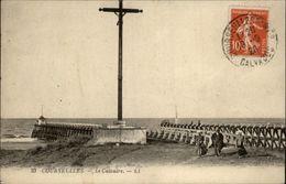 14 - COURCEULLES-SUR-MER - Jetée - Calvaire - Courseulles-sur-Mer