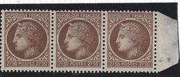 France Variété N° 681 ** Petites Variétés Dans Les Cartouches - Abarten: 1945-49 Ungebraucht