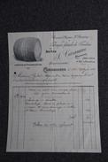 Facture Ancienne - CARCASSONNE - F.CAZANAVE, Fabrique De Foudres. - Agriculture