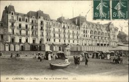 14 - CABOURG - Plage - Hotel - Cabourg