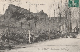 15 - MURAT - Sur La Route Du Piniou - Attelage - Murat