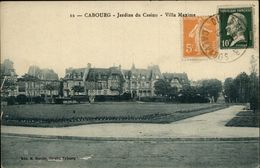 14 - CABOURG - Casino - Jardin - Cabourg