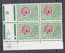 N° 137  Préoblitérés  Type Monnaie Gauloise: Coins Datés 6.2.75 - Vorausentwertungen