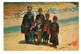 17063-LE-THAILANDE-The Meao (Hill Tribe) In Doi Suthep.Chiengmai,Northern Thailand-------------animée----beau Timbre - Thailand