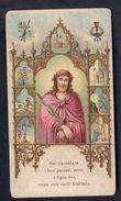 Santino.081 Orazione A Gesù Crocefisso 1898 ( Taglietto ) - Vecchi Documenti