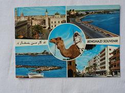 Libya Benghazi General Multi View 1973  A 147 - Libia