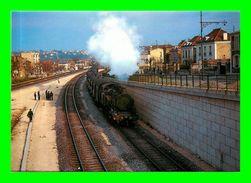 Théme Trains - En Gare De Saint Maur Des Fossés - Ligne Paris Bastille à Verneuil L'etang  ( Scan Recto Et Verso) - Trains