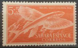SPANISH SAHARA 1954 MNH FISH - Spanish Sahara