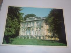 Wannegem.Le Chateau.30 / 21 Cm.Idéal Pour Encadrer.Explications Au Dos. - Kruishoutem