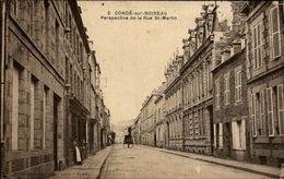 14 - CONDE-SUR-NOIREAU - Rue St Martin - France