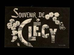 14 - CLECY - Souvenir De - Multi Vues - Clécy