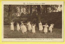 * Halle - Hal (Vlaams Brabant) * (Nels, Uitg R. Ghesquière) Zingende Meisjes, Zeven Bruine Beuken Spoken, Enfants, Rare - Halle