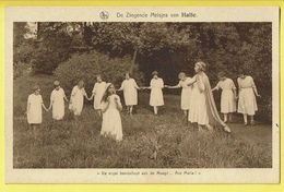 * Halle - Hal (Vlaams Brabant) * (Nels, Uitg R. Ghesquière) Zingende Meisjes, Ave Maria, Engel, Ange, Angel, Enfants - Halle