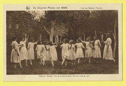 * Halle - Hal (Vlaams Brabant) * (Nels, Uitg R. Ghesquière) Zingende Meisjes, Alleluia, Enfants, Kind, Beloken Paschen - Halle