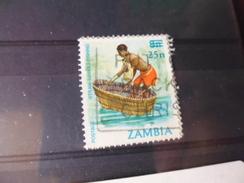 TIMBRE OBLITERE DE ZAMBIE YVERT  N° 355 A - Zambie (1965-...)