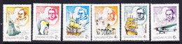Hungary 1987 Antarctica 6v ** Mnh (ANT106) - Postzegels