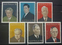 AUSTRALIA 1975 MNH FAMOUS PEOPLE - 1966-79 Elizabeth II