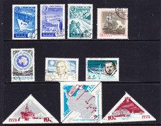 Russia  Antarctica 10v Used (ANT112) - Postzegels