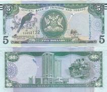 Trinidad & Tobago - 5 Dollars 2017 ( 2006 ) UNC Lemberg-Zp - Trindad & Tobago