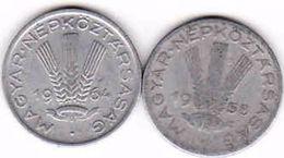 Hungary 2 X 20 Filler 1958, 1964 - Ungarn