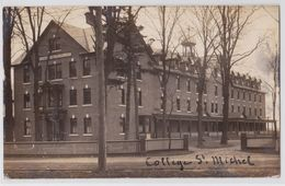 SWANTON (Vermont) - Saint-Michael's College Photo Postcard - Etats-Unis