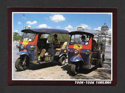 THAILAND Bangkok: TUK-TUK MOTO TAXI TOOK TOOK - THREE WHEELS VEHICLE IN THAILAND - Thaïlande