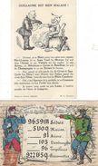 2 Cp Illustrateur TELEH CIM Poilu Armée France Prusse Et Sens Toul Meaux Metz Longwy Reims .. Illustration GUILLAUME II - Patriotic