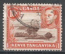 Kenya, Uganda & Tanzania 1938. Scott #69 (U) Lake Naivasha - Kenya, Uganda & Tanganyika