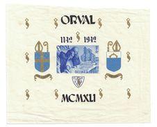BLOC ORVAL, 5F+15F, NEUF, BELGIQUE, 1942, COTE 70,00€ - Blocks & Sheetlets 1924-1960