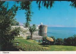 ISRAEL---RARE---TIBERIAS--the Old City Wall--voir  2 Scans - Israel