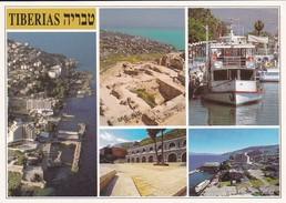 ISRAEL---TIBERIAS--multivues---voir  2 Scans - Israel