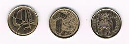 )  SPANJE 3 X 5  PESETAS 1992/97/99 - [ 5] 1949-… : Royaume