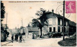 91 FORGES-les-BAINS - Ebranchement De Pivot   (Recto/Verso) - Francia