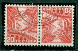 Schweiz. Gebirgslandschaften Nr. K 34 Y Gestempelt - Gebraucht
