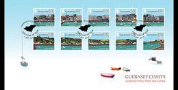 Guernsey - Postfris / MNH - FDC Kustlijnen Van Guernsey 2017 - Guernsey