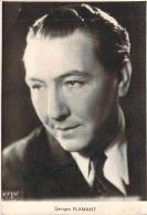 Autographe - Georges Flamant, Photo Erpé - Autographes