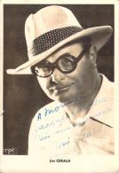 Autographe - Jim Gerald, Photo Erpé - Autographes