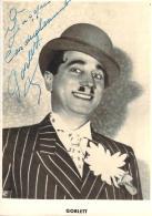 Autographe - Gorlett, Photo Erpé - Autographes