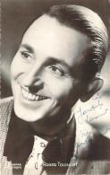 Autographe - Roger Toussaint, Photo Vandhamme - Autographes