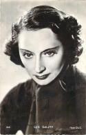 Autographe - Lys Gauty, Photo D.U.C. - Autographes