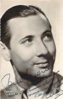 Autographe - Daniel Clérice 1943, Photo Star - Autografi