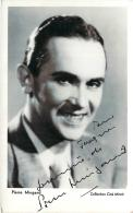 Autographe - Pierre Mingand, Collection Ciné Miroir - Autographes