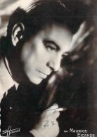 Autographe - Maurice Escande, Photo Studio Harcourt - Autographes