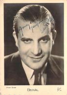 Autographe - Berval, Photo Star, Erpé - Autographes