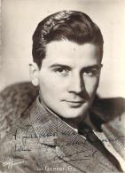 Autographe - Gilbert Gil, Photo Studio Harcourt - Autographes